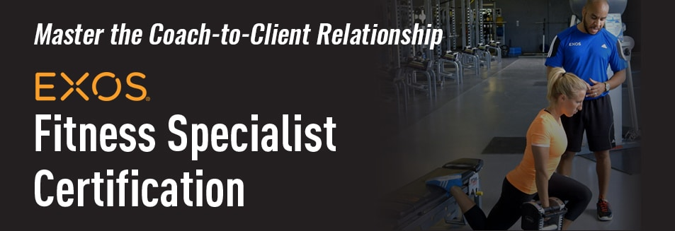 EXOS Fitness Specialist Certification