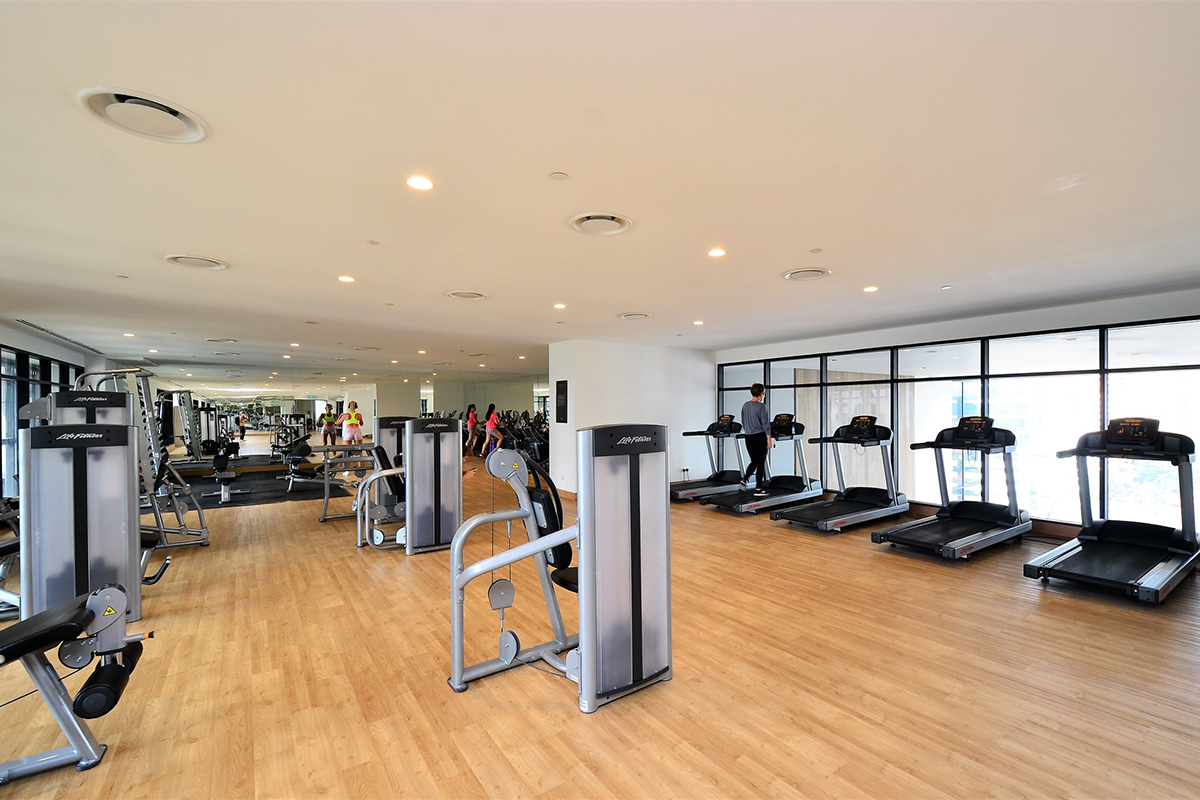 Training studio and gym