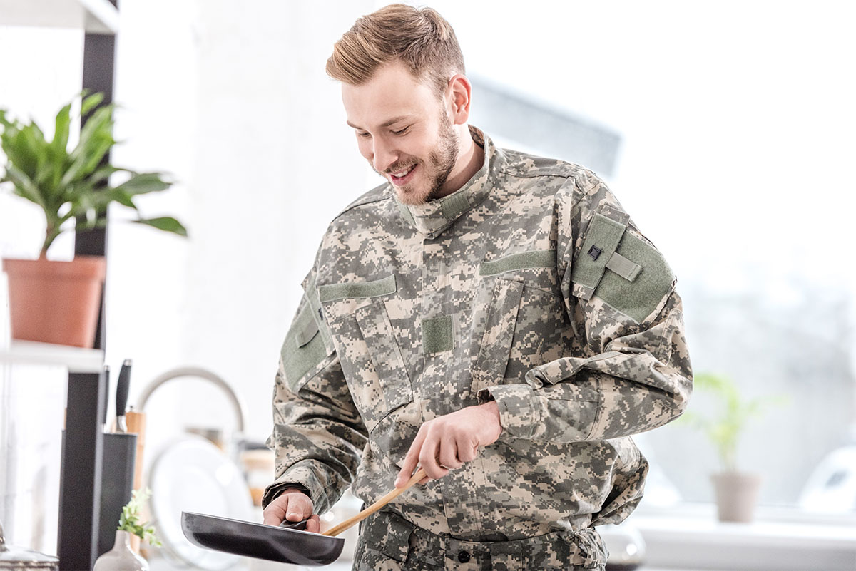 Army and diet