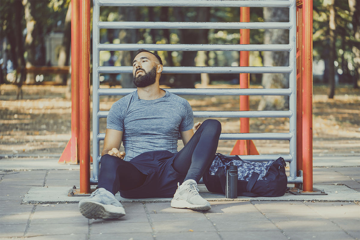 Mental fatigue from overtraining