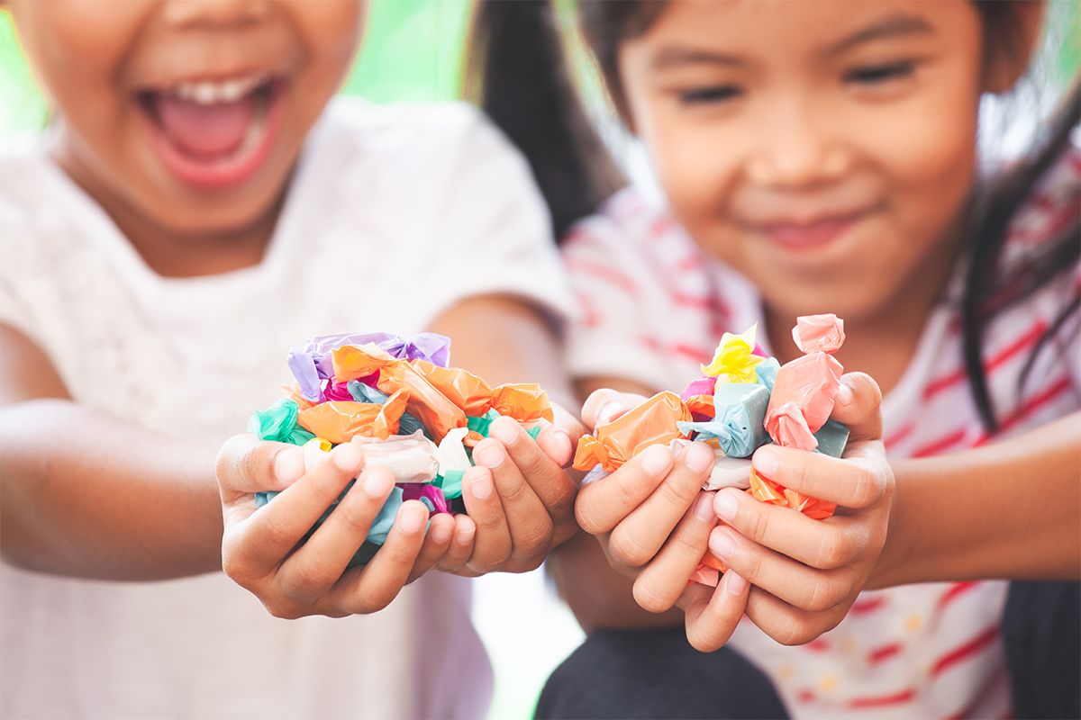 Kids require more sugar to detect sweetness