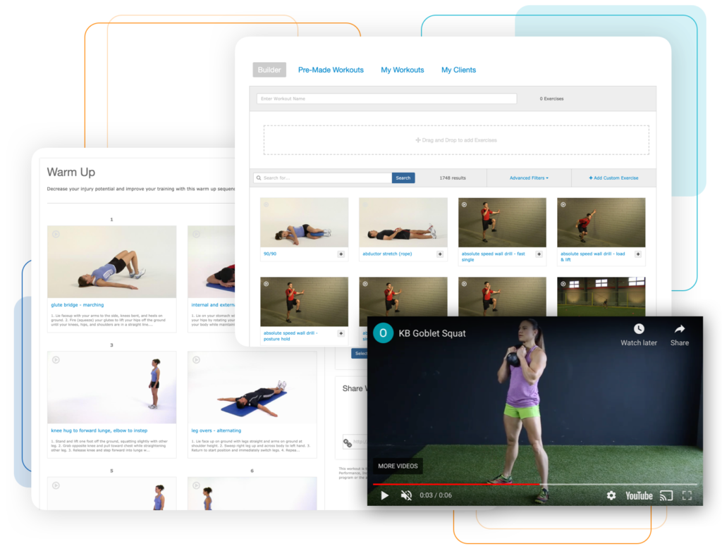 IDEAfit+ - Workout builder