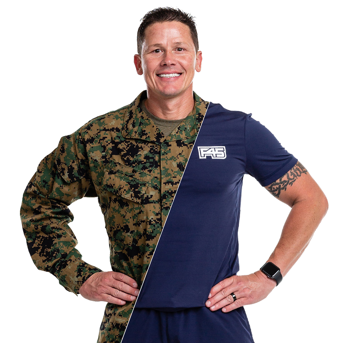 Michael Nichols, Fitness Leader of the Year finalist