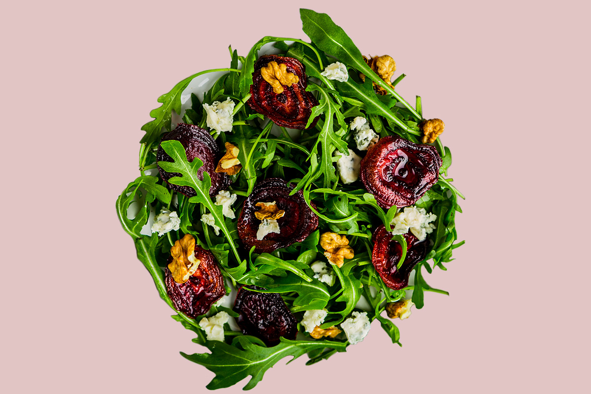 Salad to show nitrates in vegetables
