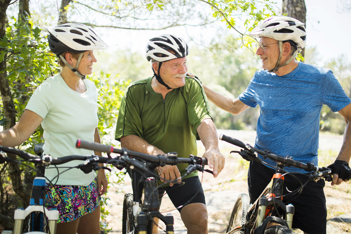 Older adult cyclists and performance decline