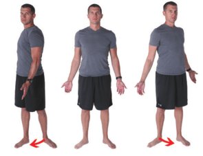 Toes-Out Torso Rotation Assessment